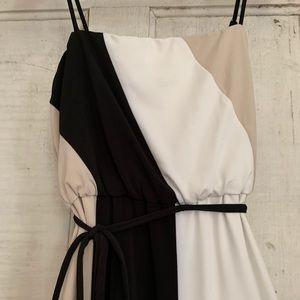 Calvin Klein strappy dress!